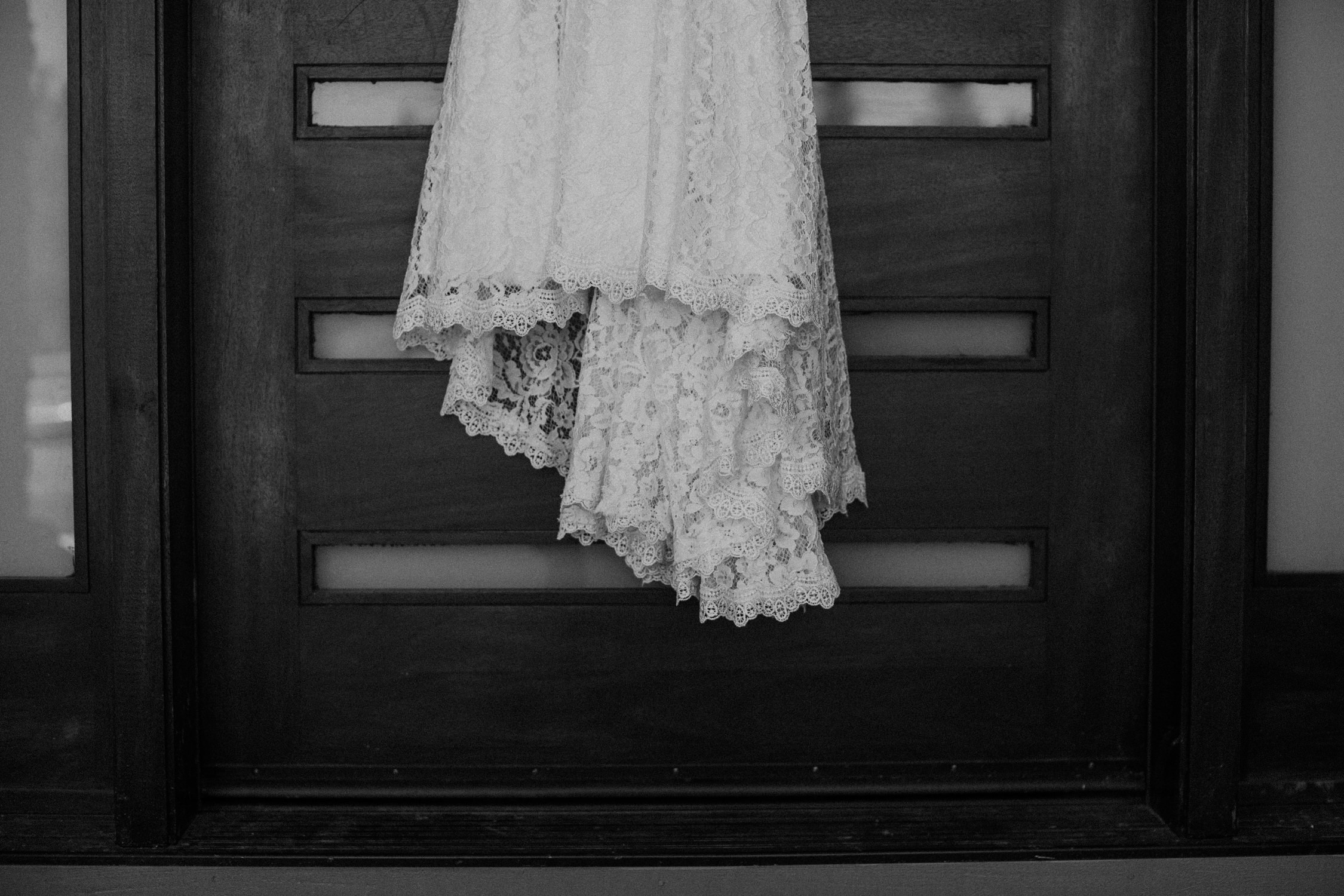 Sherwood Backyard Wedding Portland Oregon Dress